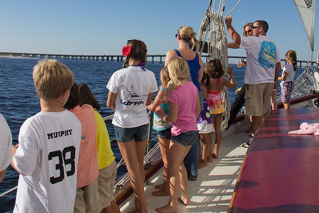 Destin Sailing Cruise Aboard The Daniel Webster Clements Tripshock