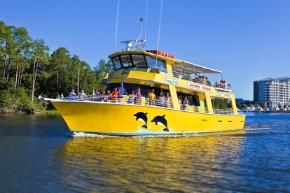 Orange Beach Dolphin & Sunset Cruises @ The Wharf Aboard Sunny Lady