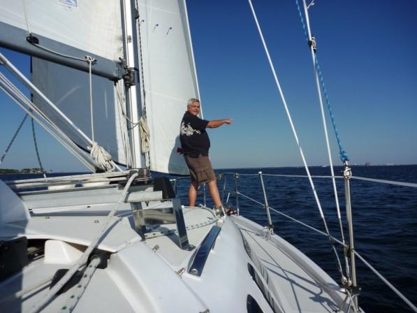 sailing on the minnie in fort walton beach fl