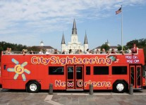 New Orleans Double Decker Hop-On Hop-Off Bus Tours