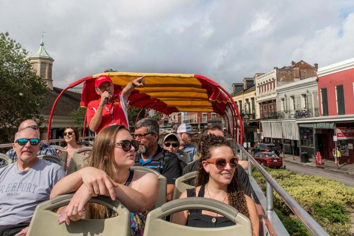 New Orleans Double Decker Hop On Hop Off Bus Tours Tripshock