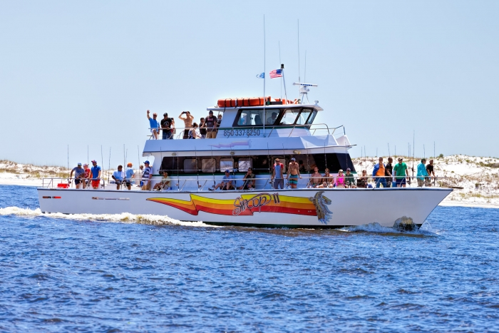 Vacation deals discounts tripshock for Pensacola party boat fishing