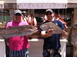 Large Amberjack Caught on the Swoop Party Boat in Destin, FL