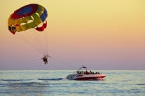 Destin X Parasailing - Departing From Destin Harbor