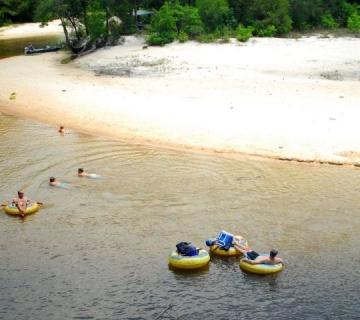 Blackwater River Tubing Trip