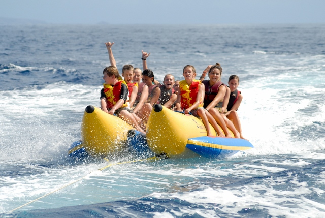 banana boating in destin florida