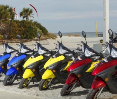 Pensacola Beach Scooter Rental (Hourly)