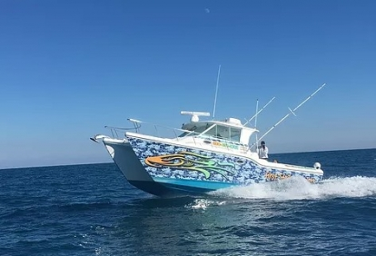 Offshore Fishing Aboard the Changin' Course Charter Boat