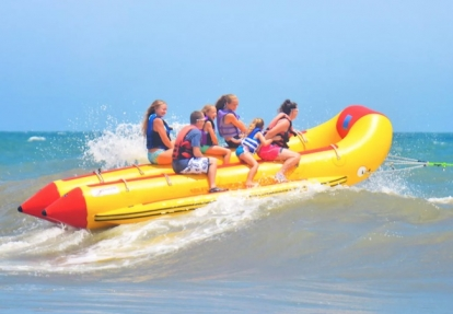 Myrtle Beach Banana Boat Rides From Sline Watersports