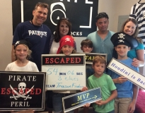 Escape Rooms with Escape Lots of Locks