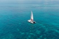 Sunset Snorkel Sail with Open Bar and Live Music by Sunset Watersports