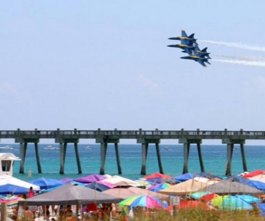 Blue Angels Airshow Practice Cruise by Pensacola Bay Cruises