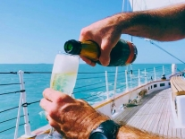 Mimosa Day Sail Aboard Schooner America 2.0 by Classic Harbor Line