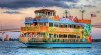 Tropical Twilight Cruise with Buffet Aboard the Calypso Queen