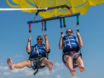 Biloxi Beach Parasailing with Parasail Adventures
