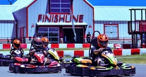 Outdoor High Performance Go Karting with Finishline Performance Karting