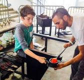 Glass Blowing Class and Museum Admission with Hollywood Hot Glass