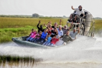 Airboat Ride & Animal Shows at the Everglades Alligator Farm