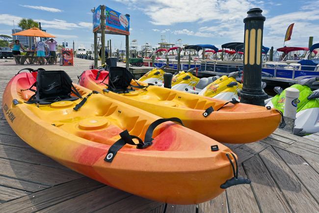 Destin Harbor Kayak Rental By Luther S Watersports Tripshock