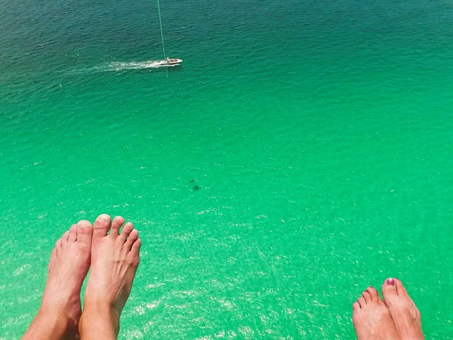 destin parasail views